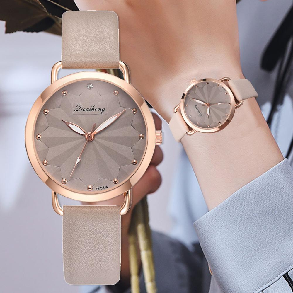 Women Fashion Vintage Leather Band Quartz Watch Relogio Feminino Ladies Casual Sports Dress Watches Analog Clocks Montre Femme