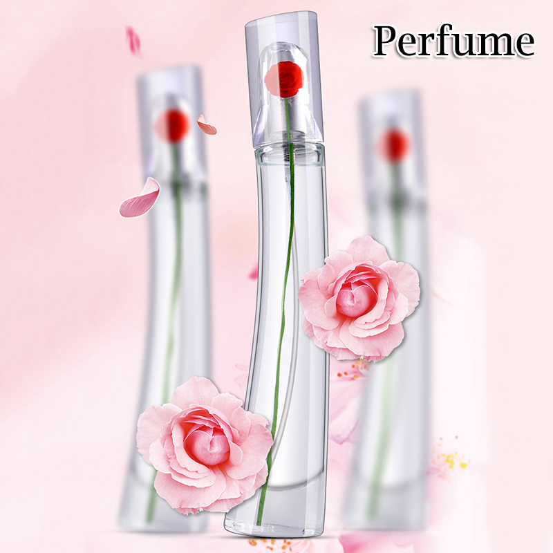 High Quality Women Fragrance Spray Elegant Refreshing Long Lasting Flowery Fragrance