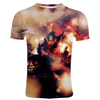 2020 Casual Game Style T-shirt League Of Legends 3D Printed Men Women Fashion Streetwear Tshirt LOL Hip Hop T shirt Unisex Tops 2