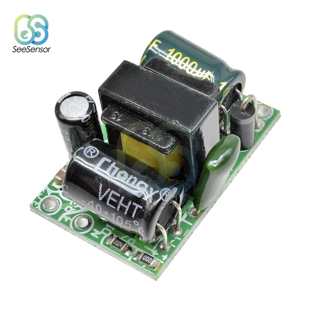 Convertisseur mâle 220V à 3.3V 5V 9V 12V | Convertisseur mâle 24V 150mA 400mA 450mA 500mA 700mA DC Module de transformateur abaisseur