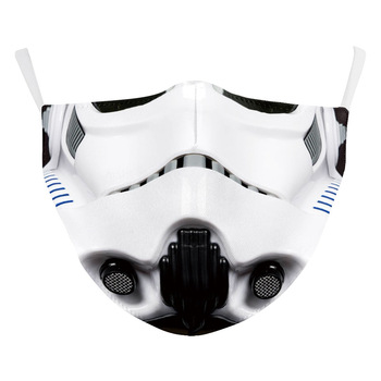 Star Wars The Mandalorian Darth Vader Chewbacca Cosplay Face Mask Adult Kids Masks Prop 1