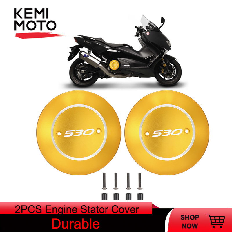 CNC For Yamaha T-Max TMAX 530 2012-2016 Frame Hole Engine Left Cover Transparent