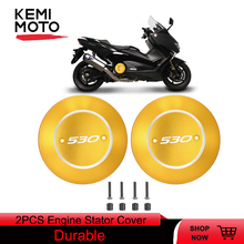 цена на For tmax 530 Engine Cover For Yamaha T-max Stator Protective Cover CNC Motorcycle For TMAX530 2017 2018 2019 DX SX Accessories