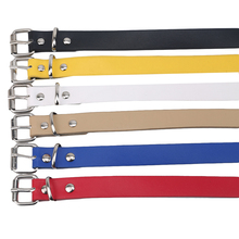 Belt Waistband Spring Retro Girls Boys Pu Solid for Factory-Direct Microfiber Washed