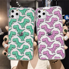 Cute Dinosaur Baby Fashion For iPhone XR XS Max 11 Pro Max 6