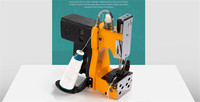 Aletler'ten TIG Kaynak Makineleri'de Taşınabilir Elektrikli çuval DİKİŞ MAKİNESİ pirinç çanta kapatıcı sızdırmazlık için kraft kağıt torbalar kağıt plastik kompozit çanta Mühürleyen makinesi