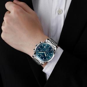 Image 4 - 2018 nowe zegarki DOM mężczyźni zegarek luksusowy chronograf mężczyźni sport zegarki wodoodporny pełny stalowy zegarek kwarcowy męski Relogio M 75D 1MPE