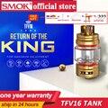 Оригинальный SMOK TFV16 бак 9 мл электронная сигарета распылитель 510 нить TFV 16 сетка катушки испаритель VS TFV12 принц Танк Vape