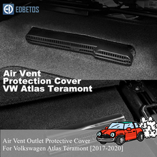 For VW Volkswagen Atlas Teramont 2017 2018 2019 2020 Auto Replacement Parts Seat Air Vent Outlet Protective Car Acessories