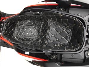 Image 3 - 혼다 PCX 125 150 ADV 150 pcx125 adv150 pcx150 범용 트렁크 라이너 프로텍터 오토바이 시트 버킷 매트 보관함 매트