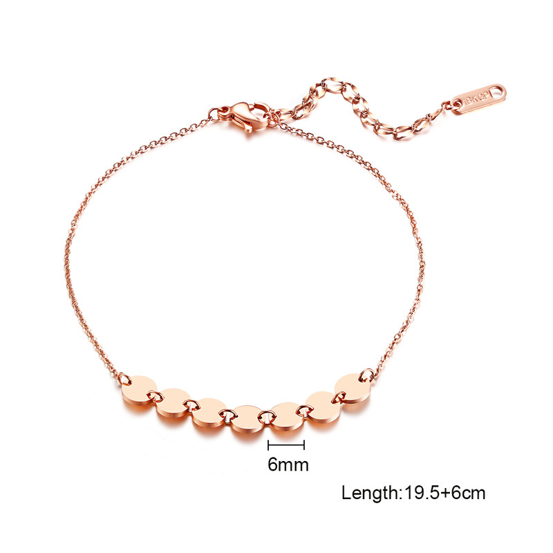Bohemian Chain Pendant Anklets For Women Summer Beach Foot Jewelry Fashion Ladies Rose Gold Anklets Foot Leg Jewelry Accessories