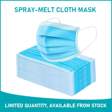 Face Mouth Disposable Masks 3 Layers Dustproof masque Mask Facial Protective Masks Anti-Dust Mask 50/100 pcs mascarilla