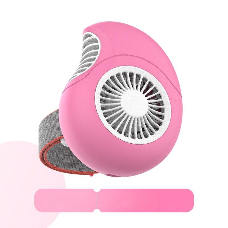 Mode Usb petit ventilateur pratique mini sans feuilles portable portable étudiant charge portable bureau nouveau ITAS6611A - 4