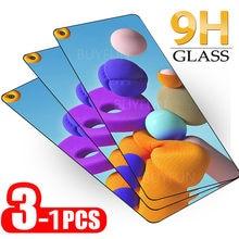 Samusng a21s vidro 1-3 peças de vidro protetor para samsung galaxy a21 s a 21 s um 21 a217f 6.5