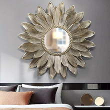 Mirror Light Luxury Iron Wall Decoration 3D Stereo Sunglasses