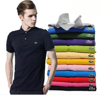 liexing tight man s t shirt patchwork breathable t shirts dry fit men s summer short sleeve men tops reflective strip jersey Men Summer Polo Shirt Brand Fashion Cotton Short Sleeve Polo Crocodile Shirts Male Solid Jersey Breathable Tops Tees 282