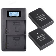 Full decoding EN-EL14 battery for Nikon D3200 D5100 non-original SLR camera charger set LCD digital display charger 5V(China)