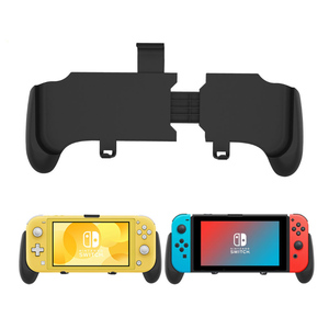 Image 2 - Nintend Switch And Switch Lite Mini 2019 Grip Case Ergonomic Non Slip Handle Stretchable  Handgrip with Detachable Hook Stand
