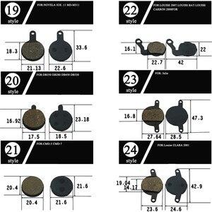 2/4 пара дисковых тормозных колодок для горного велосипеда ZOOM Magura Julie LOUISE 2007 MX4 MT5 MT8 Marta IO NoveIA M311 аксессуары