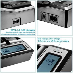 Image 5 - 2 個 BP U65 BP U60 BP U30 BP U90 バッテリー USB + D タップ + デュアル急速充電器ソニー PMW 150P XDCAM EX HD422 PHU 60K PXW Z450 Z190