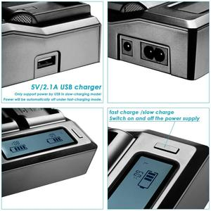 Image 5 - 2pcs BP U65 BP U60 BP U30 BP U90 Battery USB +D tap + dual fast charger For Sony PMW 150P XDCAM EX HD422 PHU 60K PXW Z450 Z190