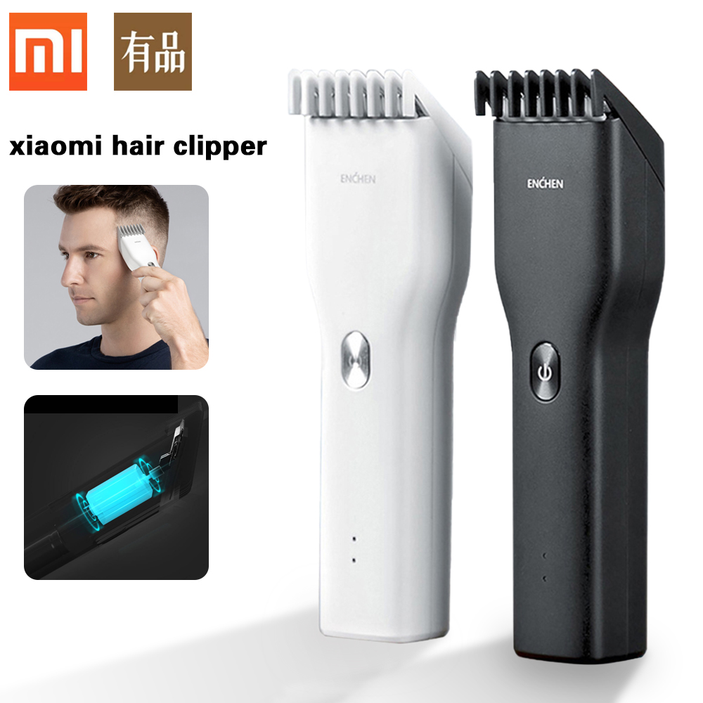 Xiaomi Hair Clipper Professional Electric Trimmer USB Fast Charging Ceramic Hair Cutter Men's Beard Razor Hair Trimmer 5