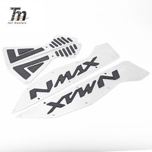 N max 155 motocicleta cnc alumínio dianteiro & traseiro estribo passos placa pé pedal para os pés yamaha N-MAX 155 nmax 155 2015-2019
