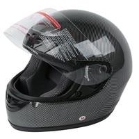 DOT Adult Carbon Fiber Flip Up Full Face Motorcycle Helmet Street Bike Motocross S M L XL 4