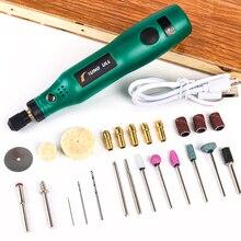 TUNGFULL אלחוטי רוטרי כלי USB נגרות חריטה עט DIY עבור תכשיטי מתכת זכוכית אלחוטי תרגיל מיני מקדחה חשמלית