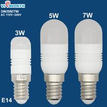 Светодиодная лампа e14 3 Вт 5 7 светодиодная переменного тока