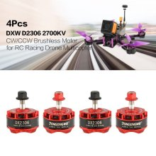 4Pcs DXW RC Drone Motor Brushless 2-4S CW/CCW 5mm QAV250  for Racing Multicopter Quadcopter Propeller