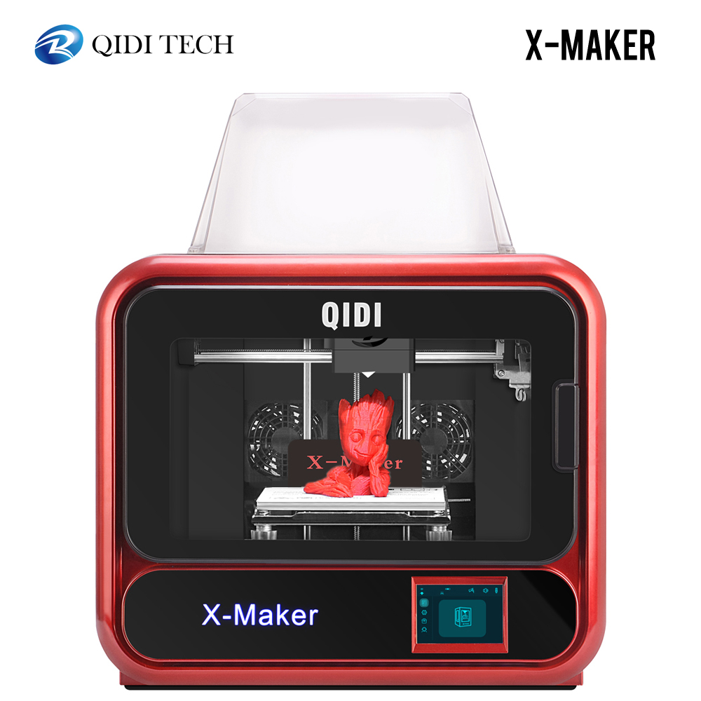 Image 2 - QIDI X MAKER 3D Printer Educational Grade Impresora 3D Drucker High Precision Print size 170mm*150mm*160mm with ABS,PLA,Flexible3D Printers   -