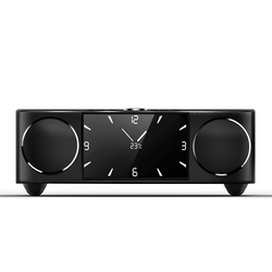 SOAIY S99 Wireless Bluetooth Video Speaker Stereo Sound HiFi Audio Subwoofer Black Speaker home theater Player Support TF