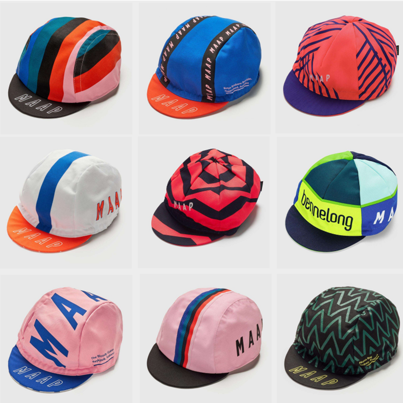 Unisex 54-62cm Maap Cycling Caps 2019 All Style Summer Polyester Cycling Wear Riding Bike Cap Gorra De Ciclismo Berretto Bicycle