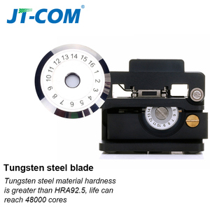 Image 2 - Fiber cleaver optical fusion Cable Cutting Knife FTTH single mode metal Fiber Optic Knife Tools cutter High Precision Cleavers