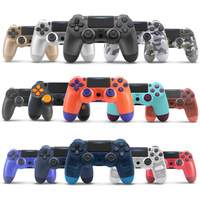 New US version PS4 with light bar game controller ps4 Bluetooth 4.0 handle for PS4 host wireless controller