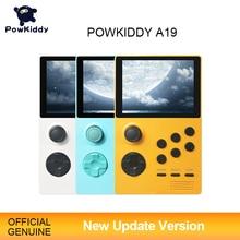 POWKIDDY A19 Pandora S Box Android Supretroเกมคอนโซลเกมคอนโซลหน้าจอIPS Built In 3000เกม + 30 3Dเกมใหม่WiFiดาวน์โหลด