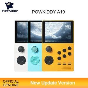 Image 1 - POWKIDDY A19 باندورا صندوق أندرويد Supretro وحدة تحكم بجهاز لعب محمول IPS شاشة مدمج 3000 + ألعاب 30 ثلاثية الأبعاد ألعاب جديدة واي فاي تحميل