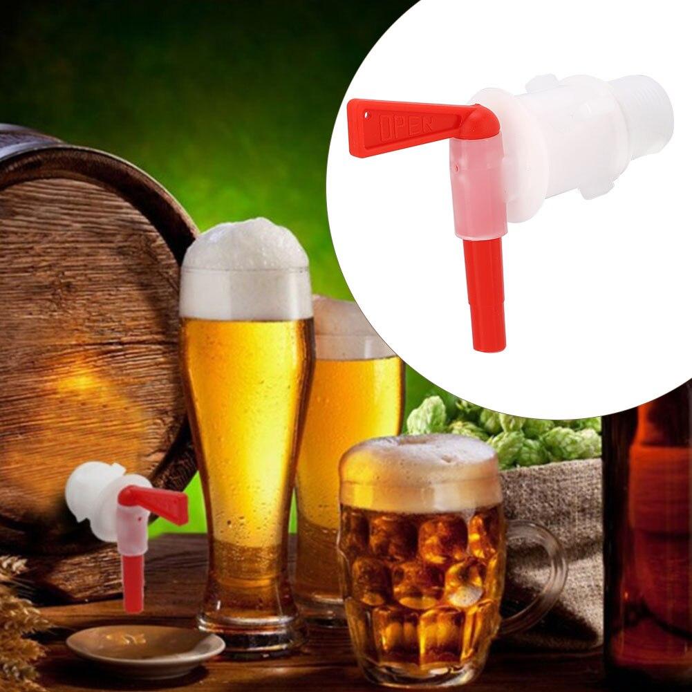 Plastic Spigot Homebrew Beer Tap Faucet Fermentation Wine Making Bucket Dispenser Barware DIY Wine Making Bar Tools