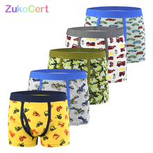 5Pcs/lot Boys Underwear Briefs For Kids Soft Organic Cotton Panties For 2 12Years Old Childrens Pants Teenager Clothes