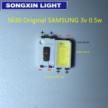 2000 sztuk dla SAMSUNG podświetlenie LED 0.5W 3v 5630 fajne białe podświetlenie LCD dla aplikacji TV TV SPBWH1532S1ZVC1BIB