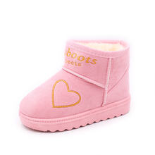 2019 New Flock ChildrenS Autumn Little Girl Ankle Boots For Warm Plush Kids Snow Fashion Winter Shoe 2 3 5 6 7 8 9 10 Year Old