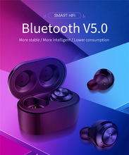 New A6 TWS Mini BlueTooth V5.0 Earphone Sports Stereo Music Headset with Charging  Headphone For for Samsung S10 S9 S8 Note 8 7