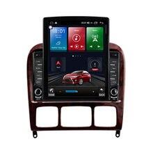 الروبوت 10.1 ل مرسيدس بنز S الدرجة W220 S280 S320 S350 S400 S430 S500 S600 S55 AMG الوسائط المتعددة ستيريو سيارة لاعب راديو GPS