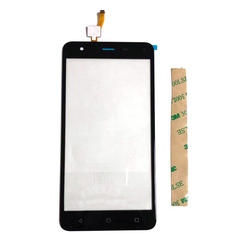 5.5 cala dla Nomi i5532 I 5532 Space X2 Touch do szkła ekranu I soczewek Digitizer czujnik przedniej szyby z taśmą samoprzylepną wymiana w Panele dotykowe do telefonów komórkowych od Telefony komórkowe i telekomunikacja na