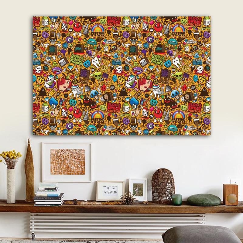 Pop Art-pintura en lienzo de Andy Warhol, impresiones y pósteres famosos abstractos, imágenes artísticas de pared para decoración del hogar y la sala de estar