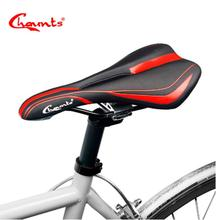 Chaunts 2017 Bicycle Saddle MTB Mountain Road Bike Seat Comfortable Soft Cushion Road Cycling Breathable Gel Saddle Bike replacement mtb saddle bike road mountain bicycle cycling seat soft cushion pad
