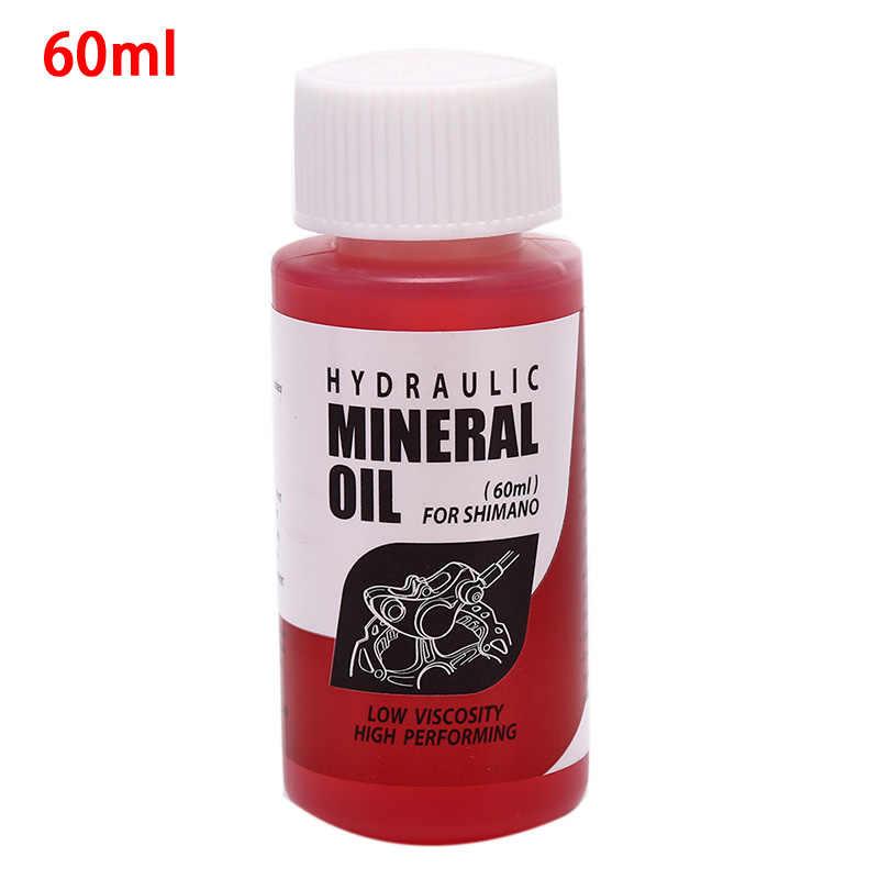 Rowerowy układ hamulcowy olej mineralny 60ml płyn rowerowy rowery górskie dla Shimano