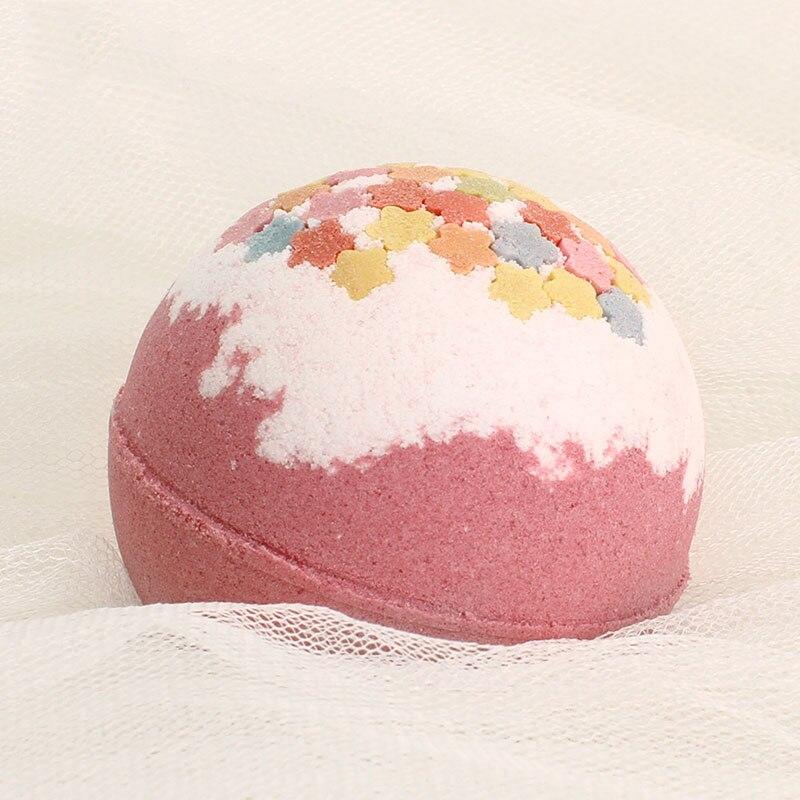 New Hot Deep Sea Bath Salt Body Essential Oil Fragrance Bath Ball Natural Bubble Bombs Ball SMR88
