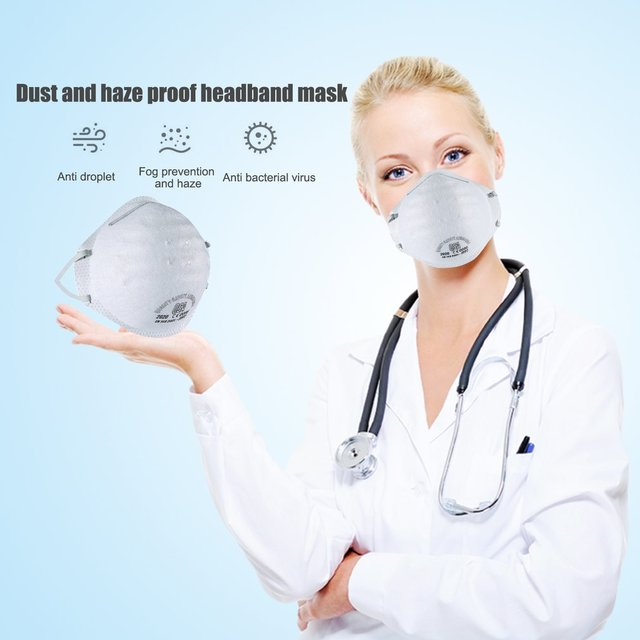 1 Pcs warm cotton mouth mask FPP2 PM2.5 dustproof N95 grade particles  Anti-Dust flu protection mask 4